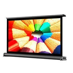 Owlenz Diagonal Mini Tabletop Portable Projector Screen Conf