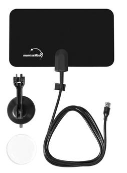 Digital Flex Indoor Leaf Flat Tv Antenna Dtv Signal Booster