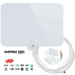 Digital High Definition Ultra Thin Flat Antenna Hdtv Tv Hd V