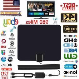 DIGITAL INDOOR TV HDTV VHF UHF FM DTV ANTENNA NEW HD TV Radi