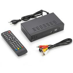 Digital Tuner HD Receiver TV Box Terrestrial Convertor Set T