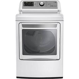 LG DLE7200WE 7.3 Cu. Ft. White Electric Dryer DLE7200WE