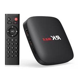 TICTID  RK MAX Android 6.0 TV Box Quad-Core Support VP9 H.26