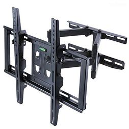 Articulating Dual Arm TV Wall Mount Tilt Swivel Bracket 32-7