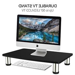 Durable TV Stand Computer Monitor Riser  for LCD LED TV up t