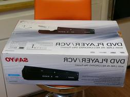 SANYO DVD player/VCR combo