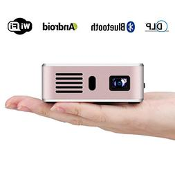 Exquizon E05 Video Projector Pocket Airplay Miracast Portabl