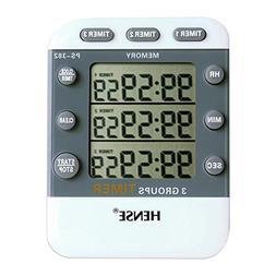 HENSE Easy Setting Large LCD Display Digital Kitchen Timer M