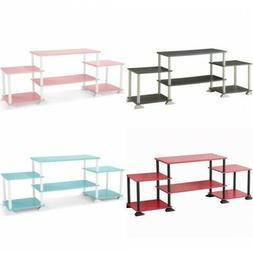 entertainment center tv dvd stereo box cube shelf. Black Bedroom Furniture Sets. Home Design Ideas