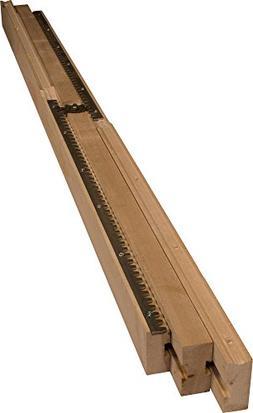 "50"" Equalizer Slide  in Solid Wood- Dimensions: 50 x 2 3/8 i"