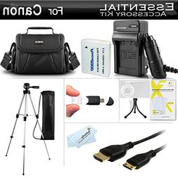 Essential Accessories Kit For Canon PowerShot SX500 IS, SX51