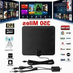 Film antenna HD High Definition TV Fox HDTV DTV TVFox 350 mi