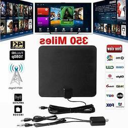 Film antenna HD High Definition TV Fox HDTV DTV TVFox 350 mi