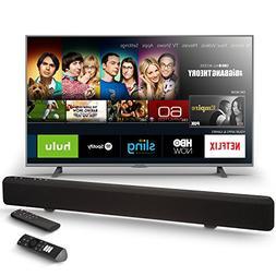 Element 50-Inch Fire TV Edition TV with AmazonBasics Sound B