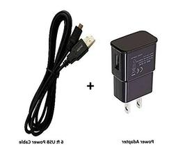 firePower USB Power Adapter + 6-Ft USB Cable for Fire TV Sti