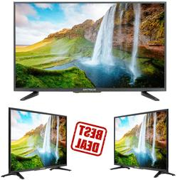"Flat 32"" LED TV 720P High-Definition Video Clear Audio HDMI"