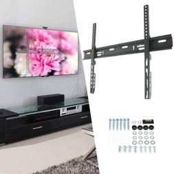 "Flat Large TV Wall Mount Bracket Strong Hanger Holder - 32""3"