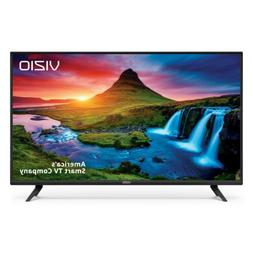 Flat Screen Smart TV Television LED 1080P Black