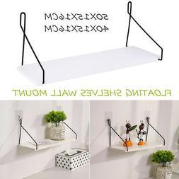 Floating Wall Shelf Mounted Rack High Display Home Decorativ