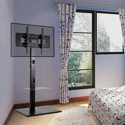 "Floor Stand TV Mount Bracket Metal Shelf For 30-60"" LCD LED"