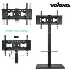 """Floor TV Stand Mount Fits 32-65"""" TVs and Monitors W/  -15°~"""