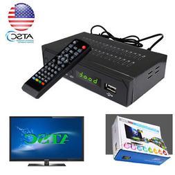 FTA 1080P HD ATSC Digital Convertor TV BOX Tuner Free Cable