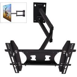 Full Motion Cantilever Long Swivel Arm TV Wall Mount Bracket