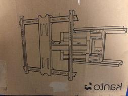 Kanto Full Motion Flat Panel TV Mount, Black  Low Profile  T