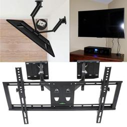 Full Motion Swivel Arm TV Wall Mount Flexible Corner Bracket