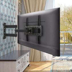 Full Motion TV Wall Mount Bracket Holder Single Stud for 26-