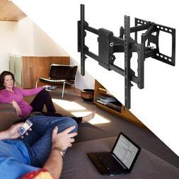 Full Motion TV Wall Mount Tilt Bracket Swivel for Samsung LG