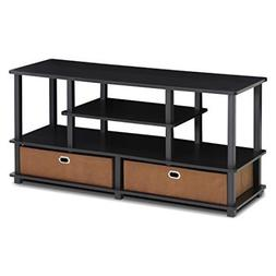 "Furinno JAYA Large TV Stand for up to 50"" TVs with Storage B"