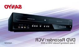 Sanyo FWZV475F DVD/VCR Combo,Convert VHS to DVD Records TV t