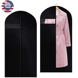 Garment Bag Dust Suit Cover Black400D Oxford Polyester Thick