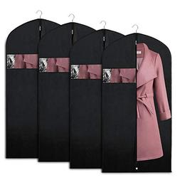 Syeeiex Garment Bags for Dress Storage and Travel 50-inch Co