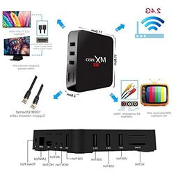 Greatever Android TV BOX, MX Pro TV Box Amlogic S905 Android