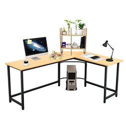 "Elevens 66""x 50"" Modern L-Shaped Desk Home Office Corner Com"