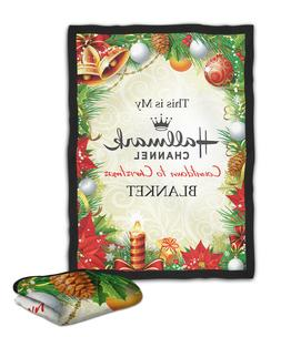 Hallmark Christmas Movie Blanket  /  /