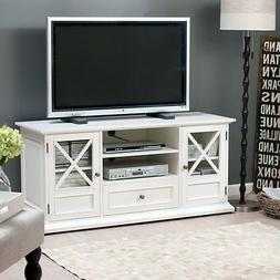 Belham Living Hampton TV Stand - White, White