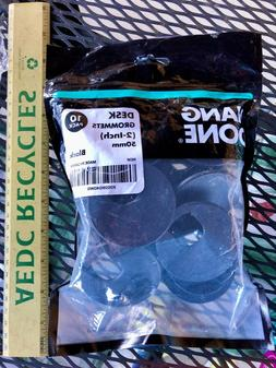 Hang Done desk Grommets  50mm BLACK 10 pack - New in Package