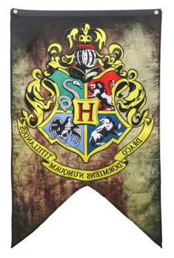 Harry Potter Hogwarts Wall Banner 30 inch x 50 inch Intended
