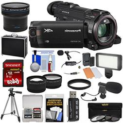 Panasonic HC-WXF991 Wi-Fi 4K Ultra HD Video Camera Camcorder