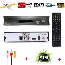 HD DVB-S2 Digital FTA Satellite Receiver IPTV Youtube Wifi D