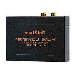 DotStone HDMI Audio Extractor Splitter HDMI To HDMI + Optica