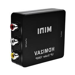 HDMI to RCA Converter, PeoTRIOL 1080P HDMI to AV 3RCA Compos