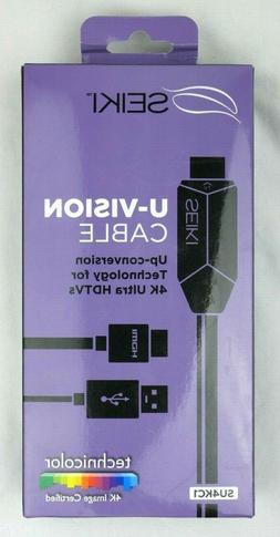 HDMI Seiki SU4KC1 U-Vision Up Converting 4K UHD VR PlayStati