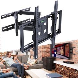 HEAVY DUTY DUAL ARM FULL MOTION TILT TV WALL MOUNT BRACKET 3