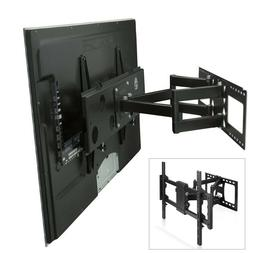 Heavy Duty Full Motion TV Mount Bracket Dual Articulating Ar