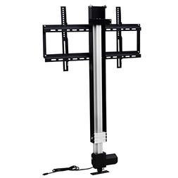 Heavy Duty Motorized TV Lift Mount Bracket with Remote Contr