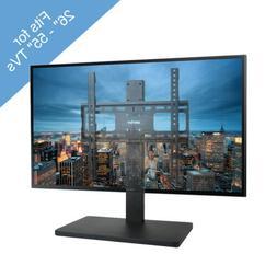 Heavy Duty TV Bracket Stand Steel Base Hold 26-55 TV Tableto